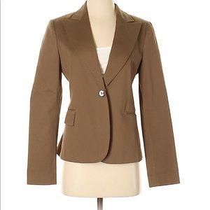 ZARA NWB Collection tan blazer size 6 women's EUC